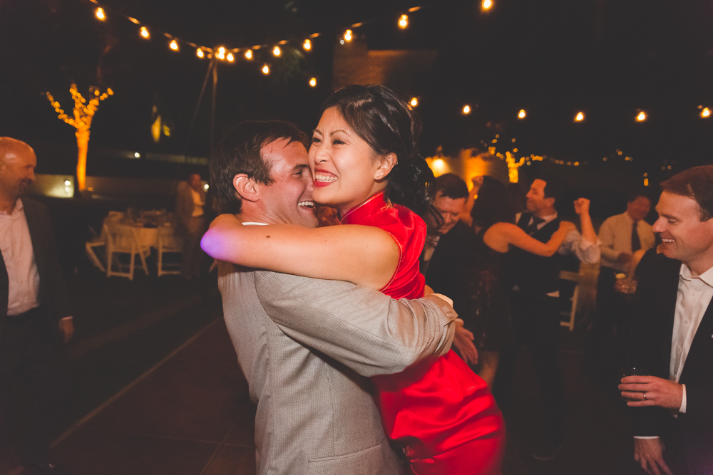 Destination Wedding: Mixing Chinese and Western Culture at the Wente Vineyards in Livermore, California