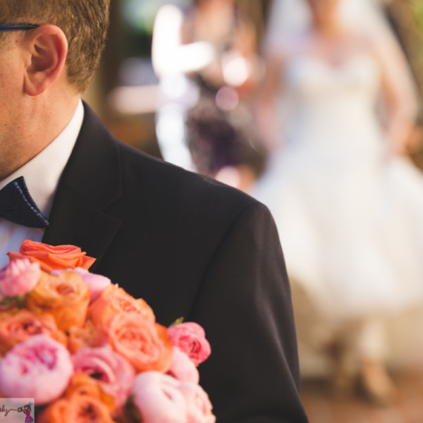 Corals at The Castaway: Los Angeles Garden Wedding