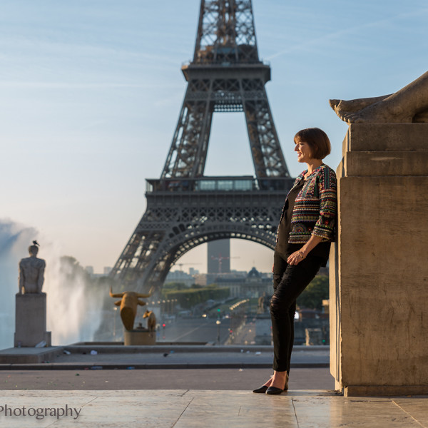 Paris Portrait Session: Trocadero and Champs de Mars