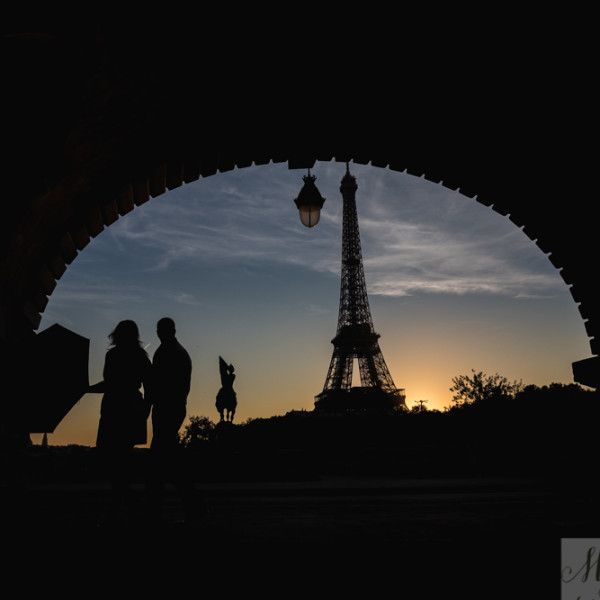 Destination France: Notre Dame + Eiffel Tower Anniversary Shoot