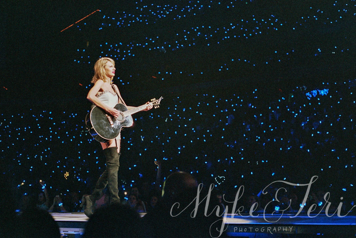 Film Photography: Taylor Swift 1989 World Tour in St. Paul, Minnesota