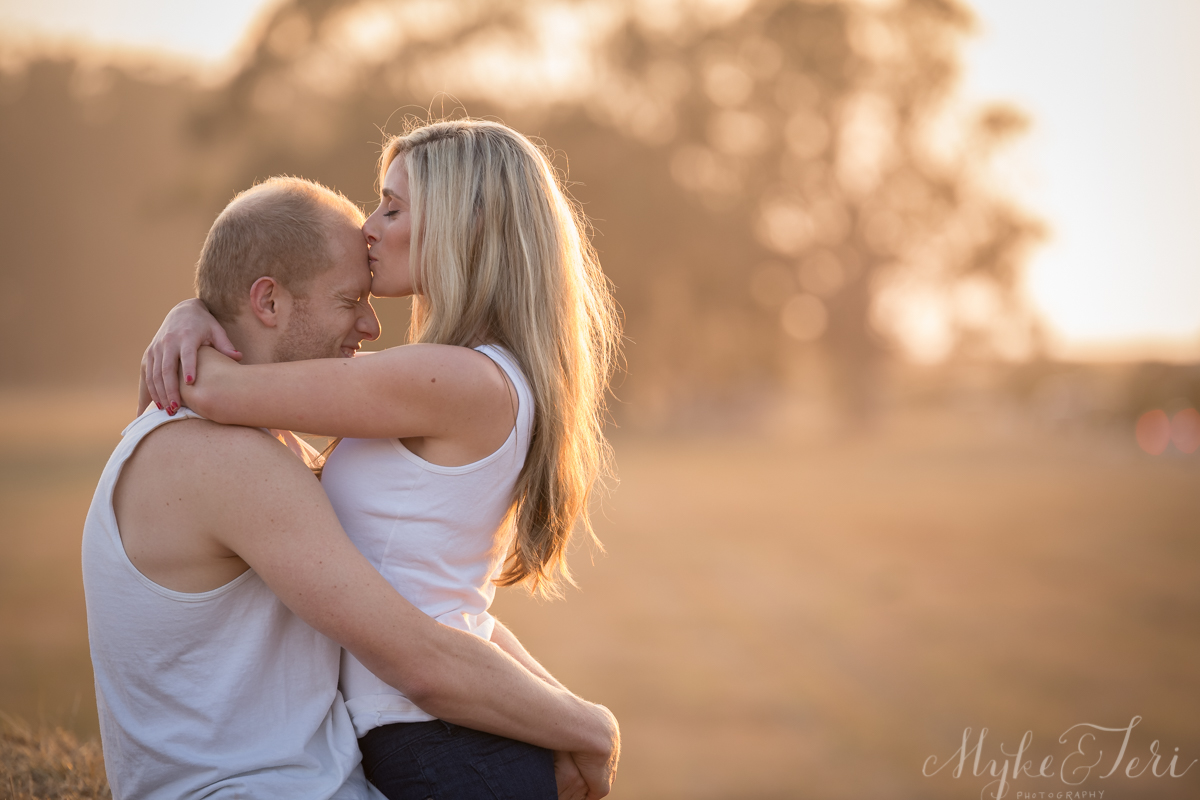 Golden Locks + Golden Rays: Half Moon Bay Engagement Shoot