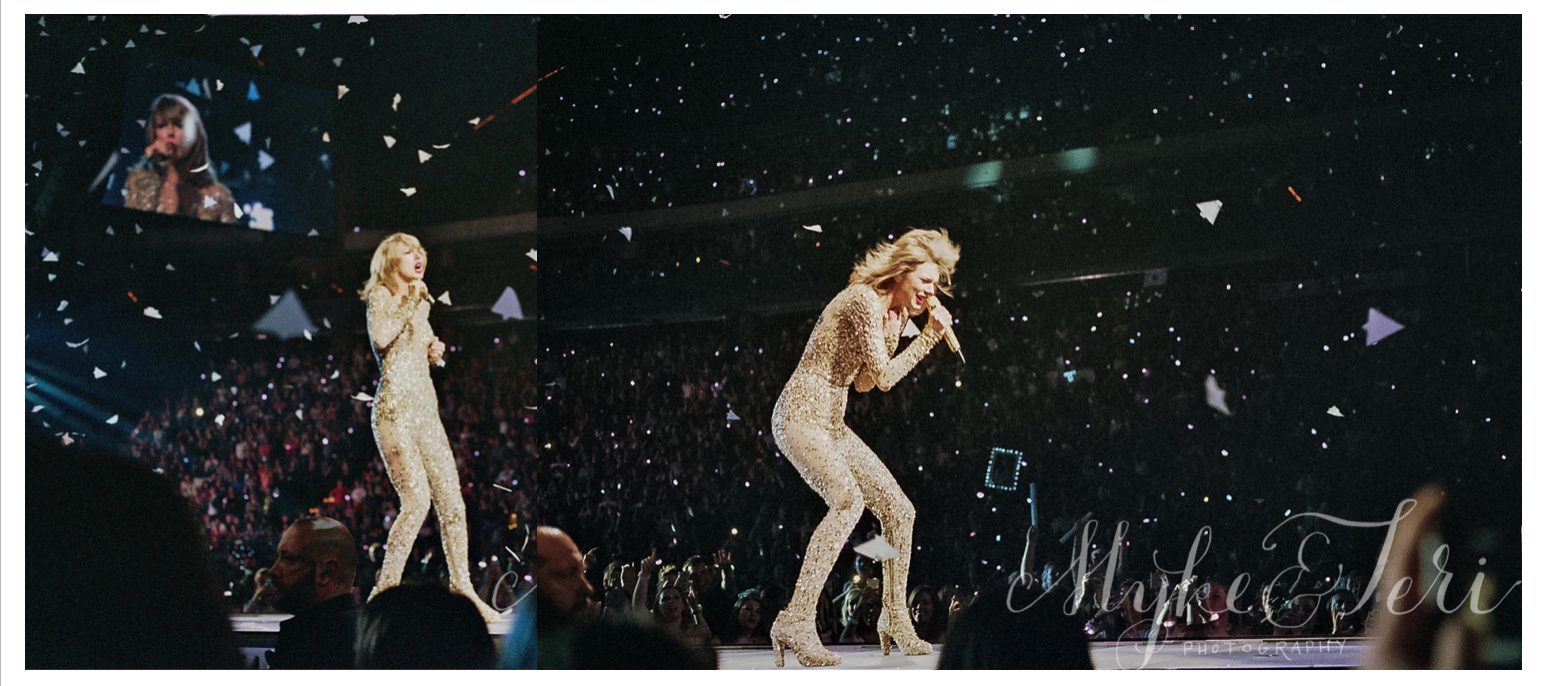 Taylor Swift 1989 Tour Xcel Cnter