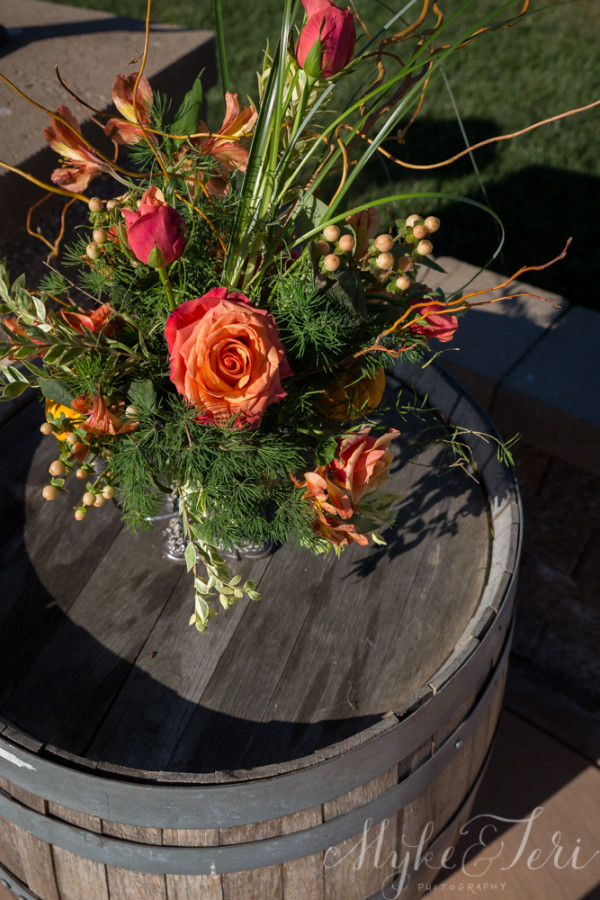 fall wedding flowers California