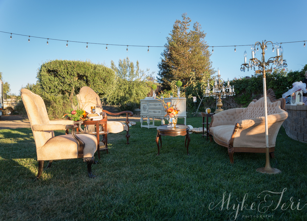 outdoor wedding furniture