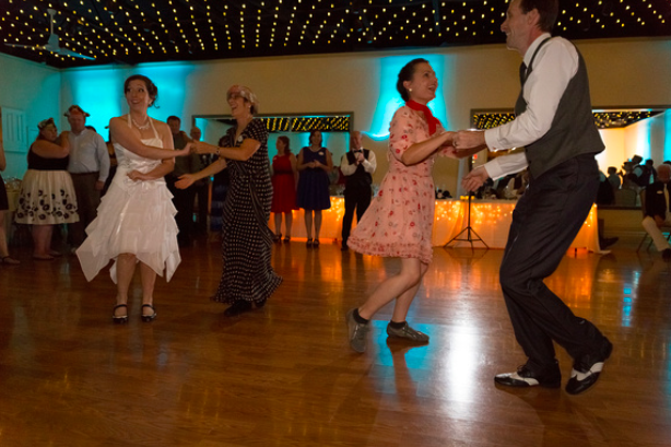 swing dance wedding
