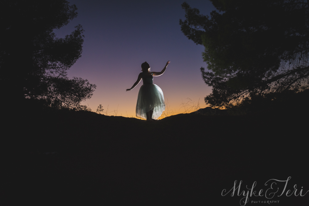 Swan Lake Inspired Mountain Bridal Shoot: Malibu Canyon, California