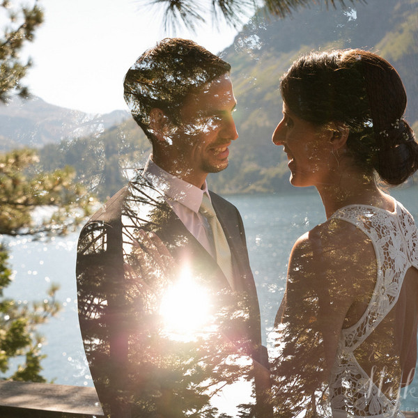 Find Things from Outside & Bring them In: Fallen Leaf Lake Wedding