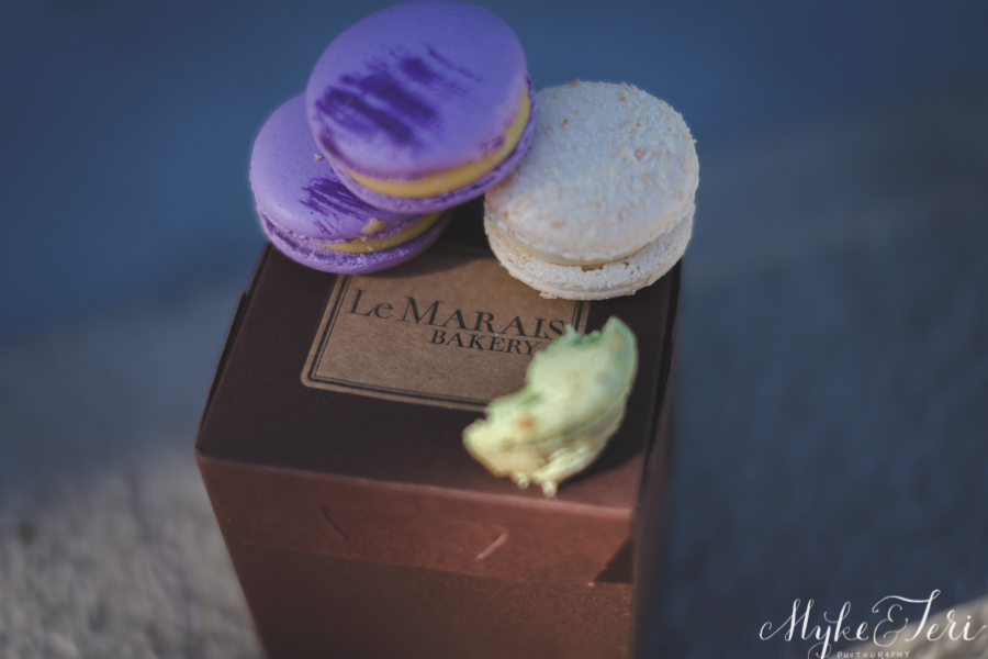 Purple and Coconut Macaron Bliss: Le Marais Bakery, San Francisco