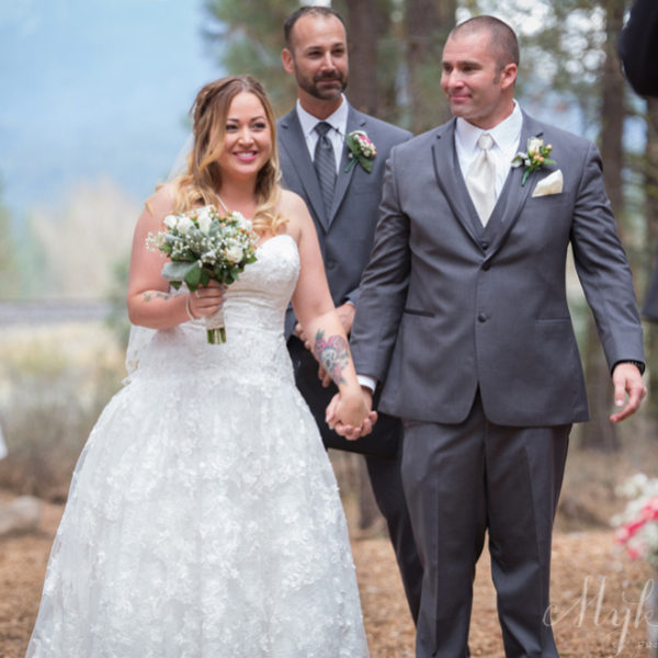Beaded Lace + Clouds for Days: Destination Truckee Barn Wedding