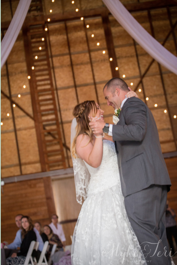 corner barn wedding
