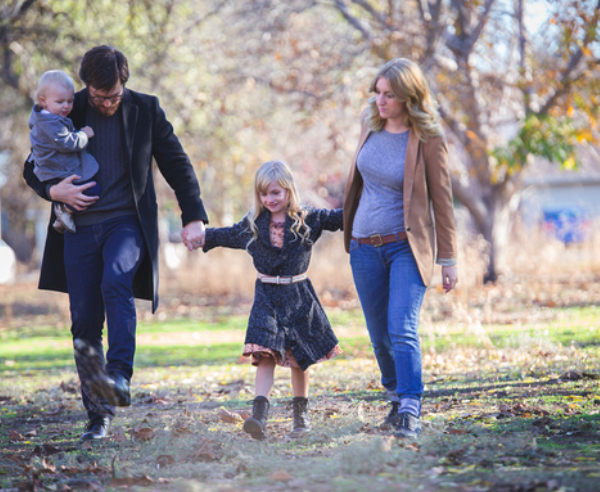 Fall Family Session in Northern California