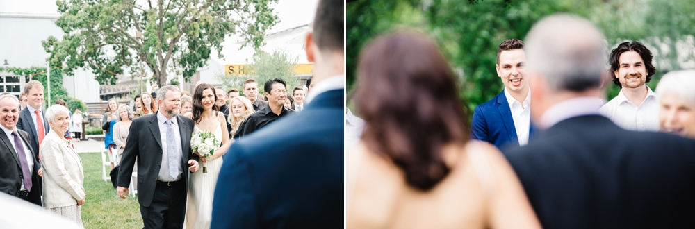 Neutral Tone Barlow Outdoor Wedding Sebastopol California 19
