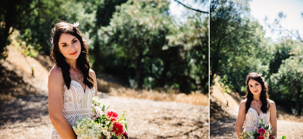 Eco-Friendly Bohemian Beverly Hills Outdoor Wedding 11