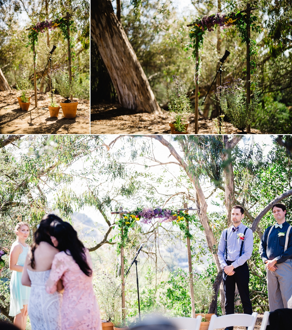 Eco-Friendly Bohemian Beverly Hills Outdoor Wedding 16