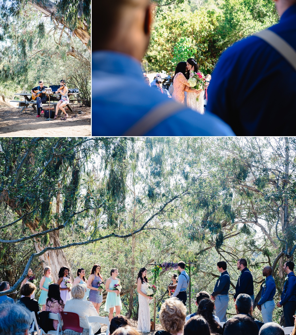Eco-Friendly Bohemian Beverly Hills Outdoor Wedding 17