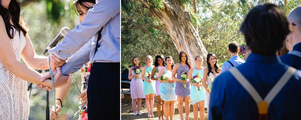Eco-Friendly Bohemian Beverly Hills Outdoor Wedding 20