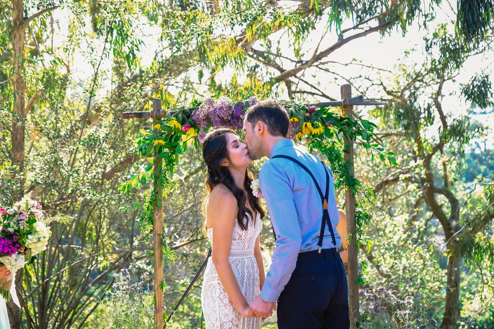 Eco-Friendly Bohemian Beverly Hills Outdoor Wedding 21