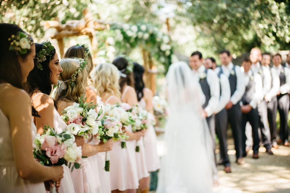 Oak Canyon Ranch Outdoor Wedding Myke + Teri Photography 14