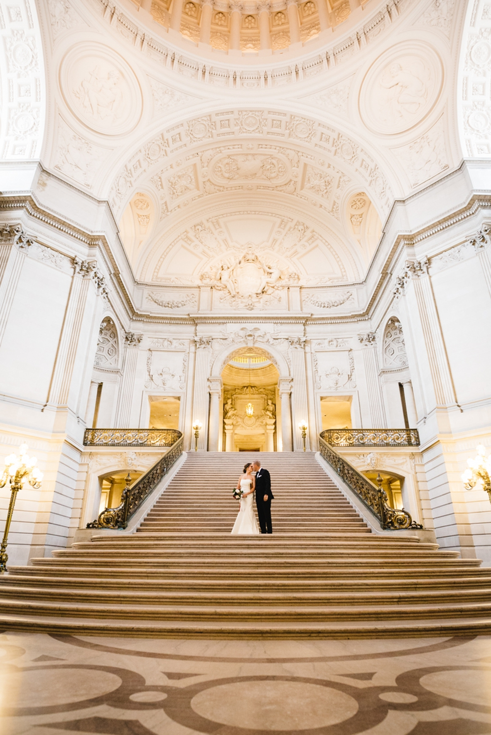 San Francisco City Hall Elopement Photography Myke + Teri 1