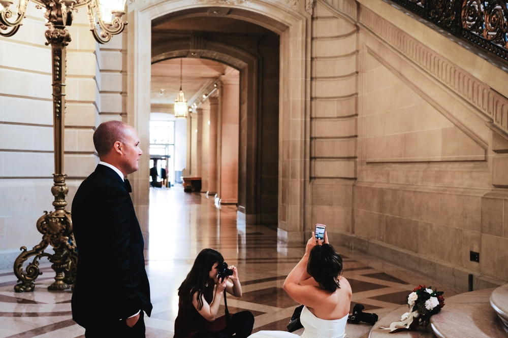San Francisco City Hall Elopement Photography Myke + Teri 17