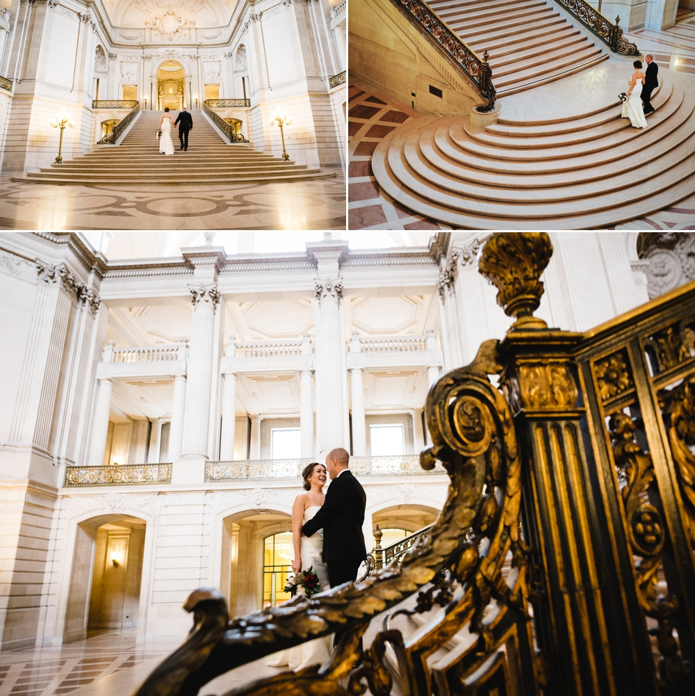 San Francisco City Hall Elopement Photography Myke + Teri 2