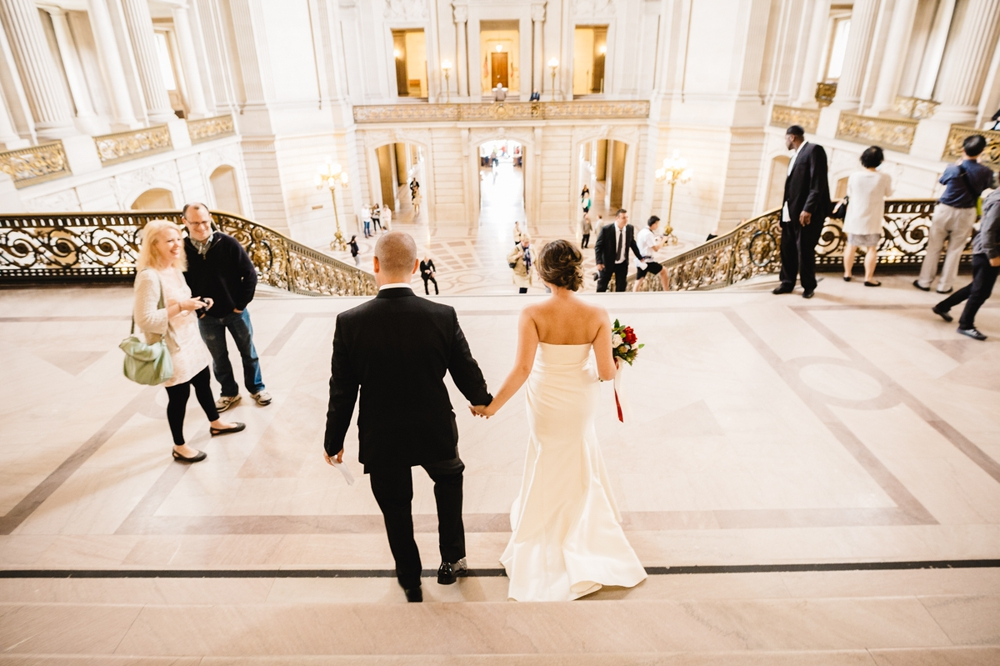 San Francisco City Hall Elopement Photography Myke + Teri 27