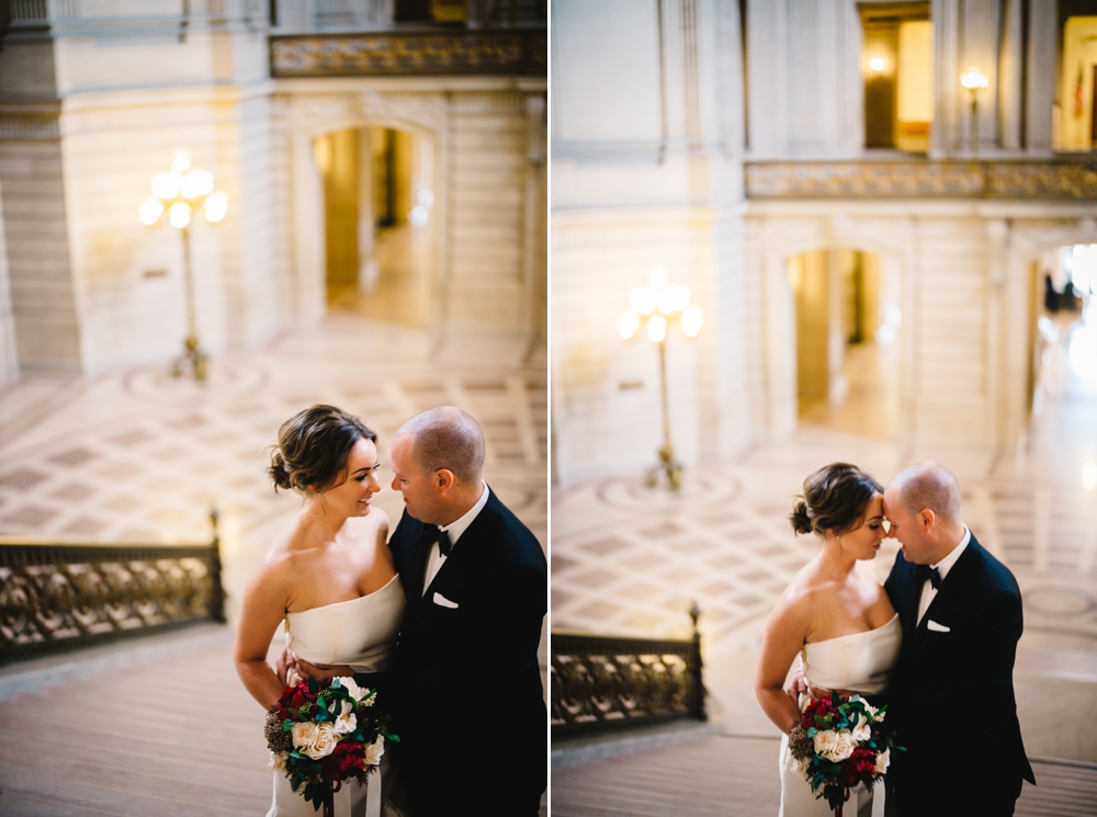San Francisco City Hall Elopement Photography Myke + Teri 5