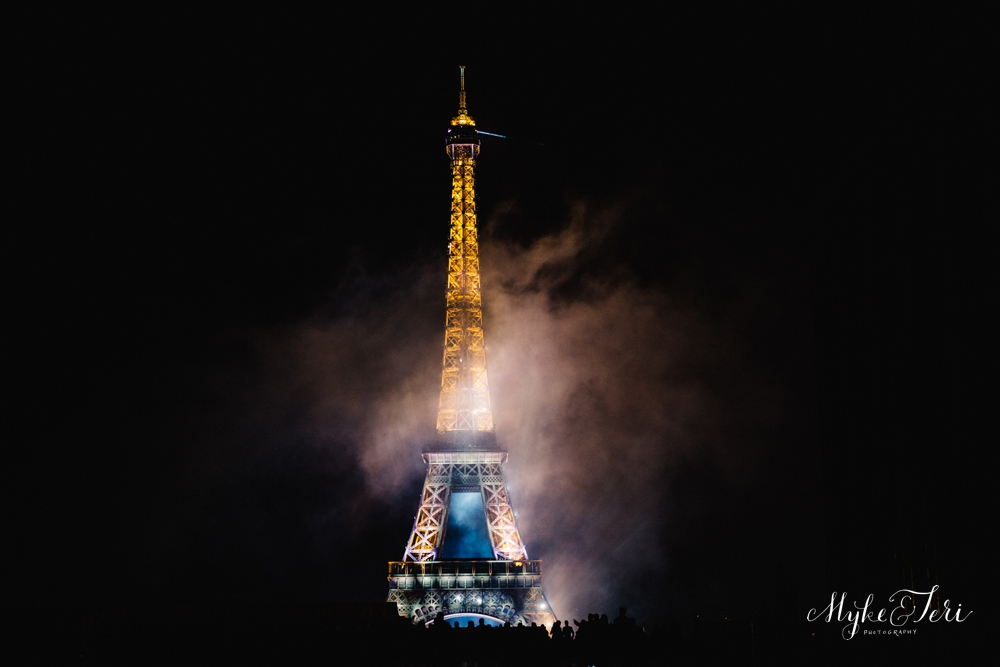 We watched as the Sky Lit Up with Magic: French Independence Day in Paris
