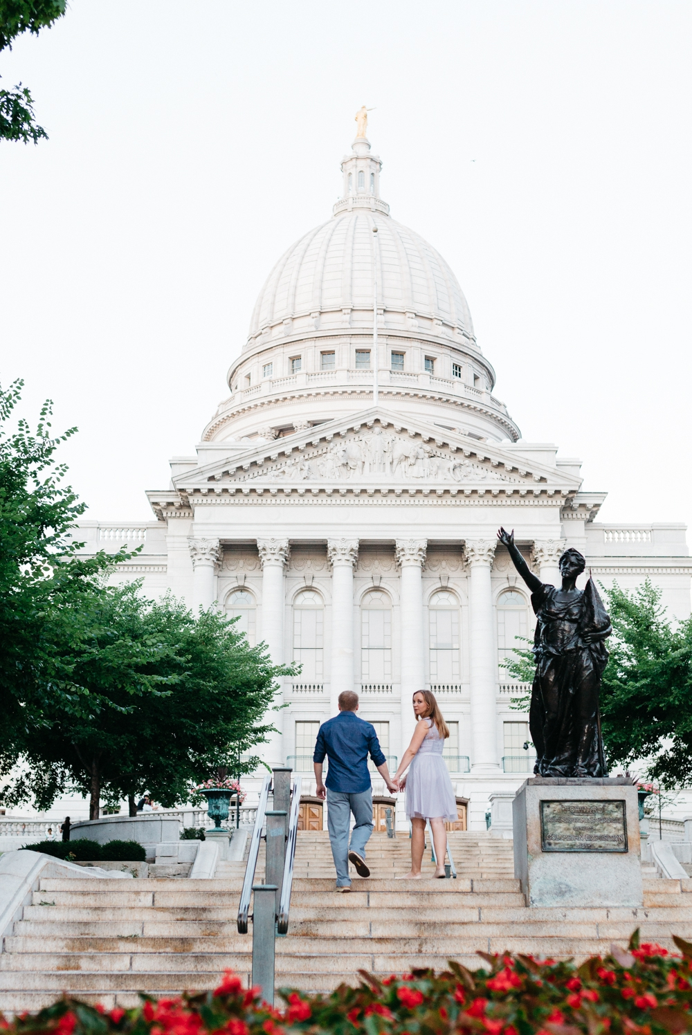 Madison Engagement Session Downtown Orpheum WI Photographer 20