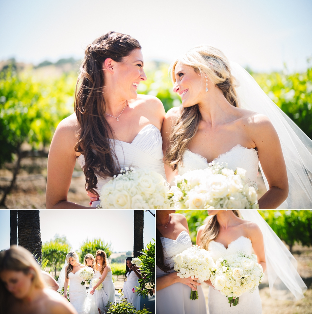 Palm Event Center Vineyard Wedding Indoor Barrel Room SF Photographers Myke Teri 15