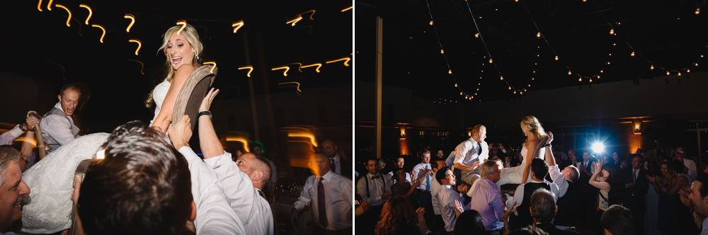 Palm Event Center Vineyard Wedding Indoor Barrel Room SF Photographers Myke Teri 42