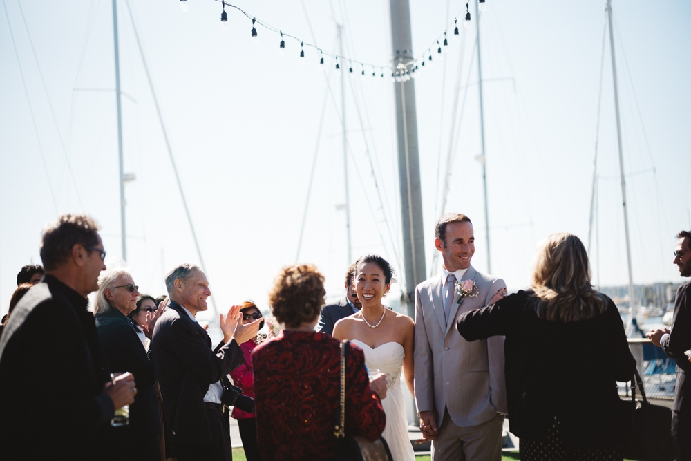 You + Me, Sunshine + Yachts: Brunch Wedding at the California Yacht Club, Marina del Rey
